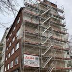 Osterstrasse - Astra Gerüstbau Hamburg